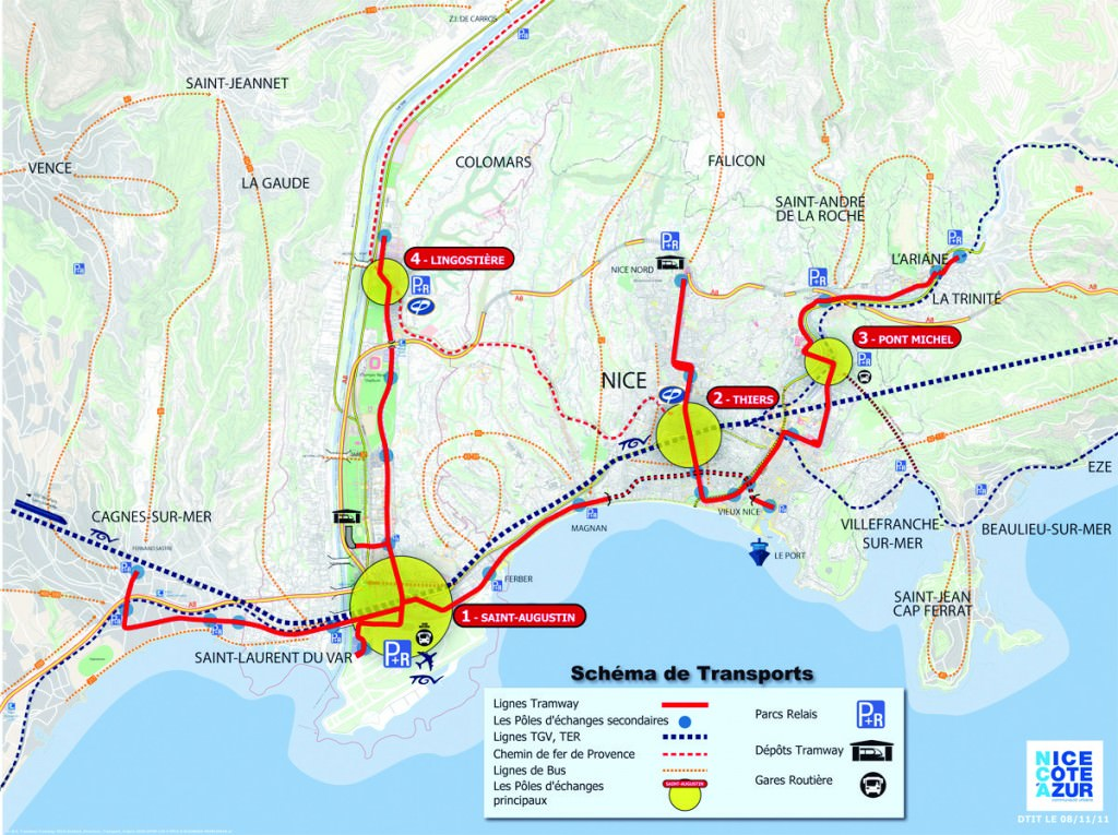 Le schéma des transports horizon 2030