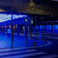 « Blue : Hommage au bleu d'Yves Klein » - Gunda Förster - 2007