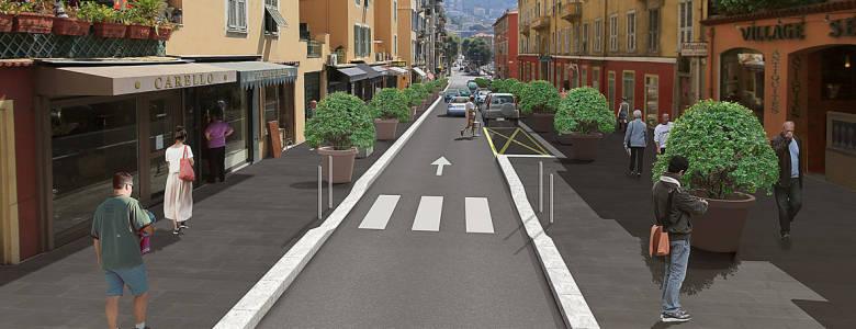 Promenade antiquaire rue Antoine Gautier