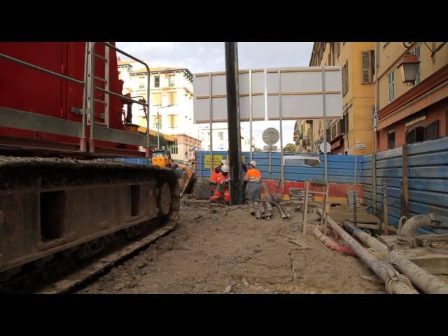 Suivi des travaux du tramway – Janvier 2015