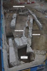 Réseau des fortifications médiévales et modernes