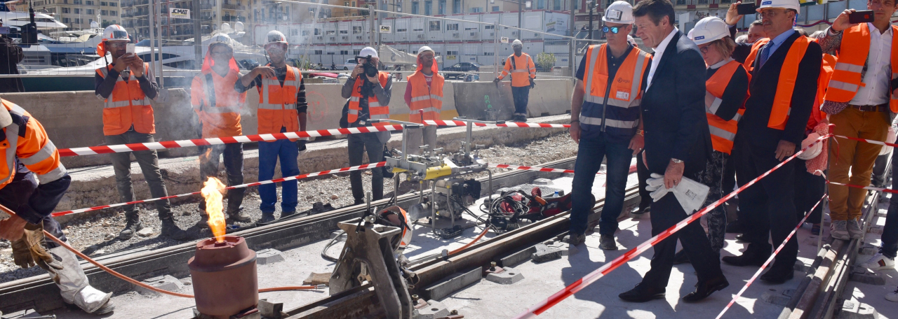 Découverte du tunnel de sortie et de la station Port Lympia – Mercredi 29 mai 2019