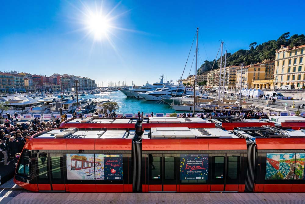 Secteur Garibaldi / Port - Tramway de la Métropole Nice Côte d'Azur
